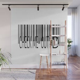 Barcode-Check Me Out ;D Wall Mural