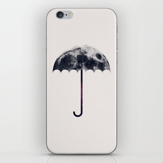 Space Umbrella II iPhone & iPod Skin