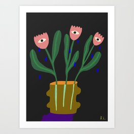 Hands off of our Sisters Art Print