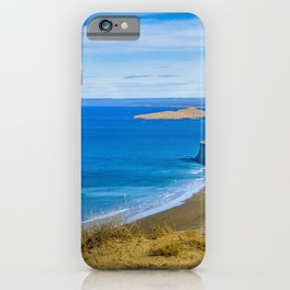 Landscape View from Punta del Marquez Viewpoint, Chubut, Argentina iPhone Case