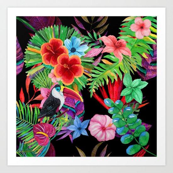 hawaiian beauty Art Print