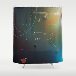 Shock The Monkey Shower Curtain