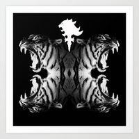 supreme Art Prints featuring Supreme Ruler  by We Are Dreamers