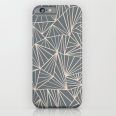 Ab Fan Grey And Nude iPhone 6s Slim Case