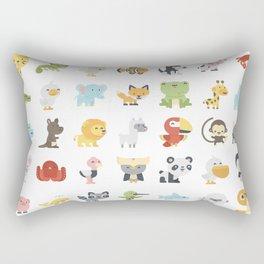 CUTE BABY ANIMAL PATTERN Rectangular Pillow