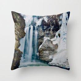 Johnston Canyon Pt.2 Throw Pillow