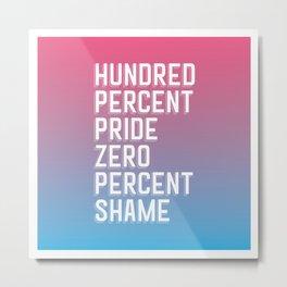 Transgender Pride Metal Print