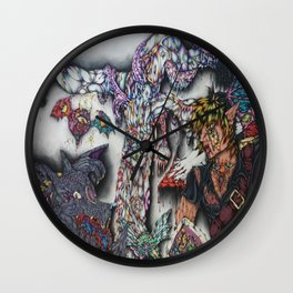 Battle to the Death Wall Clock