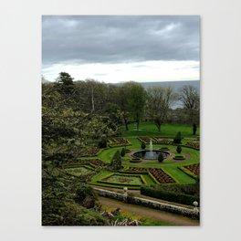 Palace Gardens Canvas Print