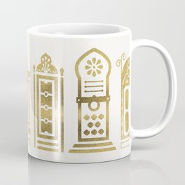 Moroccan Doors – Gold Palette Coffee Mug