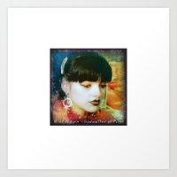 Nina Hagen Art Print
