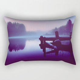 Reflections Of Winter Rectangular Pillow