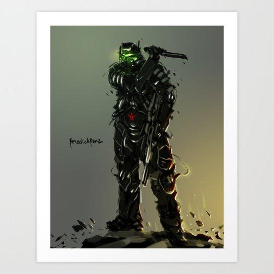 Assault Raptor Art Print