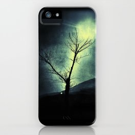 Dark Sun iPhone Case