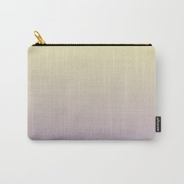 Color gradient 10. yellow and purple or violet. abstraction,abstract,minimalism,plain,ombré Carry-All Pouch