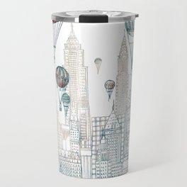 Voyages Over New York ~Refresh Travel Mug