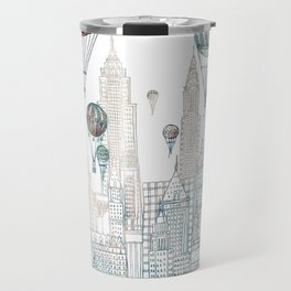 Voyages Over New York ~Refresh Travel Mug