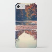 river iPhone & iPod Cases featuring River by KunstFabrik_StaticMovement Manu Jobst