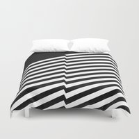 bands Duvet Covers featuring Blacknote Bands R. by blacknote