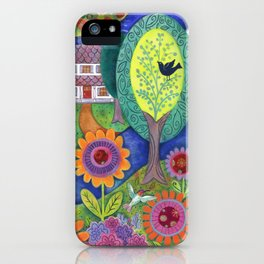 Summer Calling iPhone Case