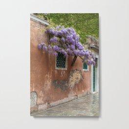Venezia- Flower tree Metal Print