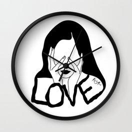 LOVE Wall Clock