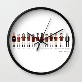 Milan - All-time squad Wall Clock