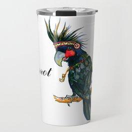 Chief Black parrot Travel Mug