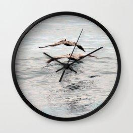 Going Fishing Wall Clock