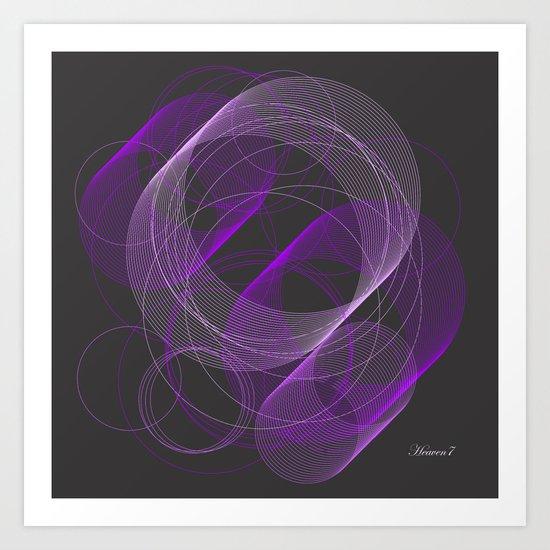 TUBES - vector Art Print