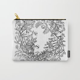 Birds tree botanical pattern Carry-All Pouch