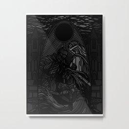Gone Hollow Metal Print