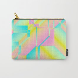 Geometric Fashion Print Carry-All Pouch