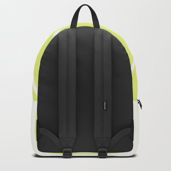 Irregular Chevron - The Yellow Backpack