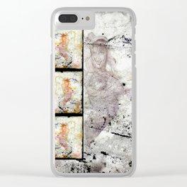 DID U MISS ME? Clear iPhone Case