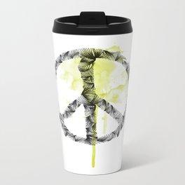 Peace Metal Travel Mug