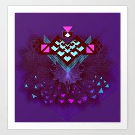 ::Space Bird:: Art Print