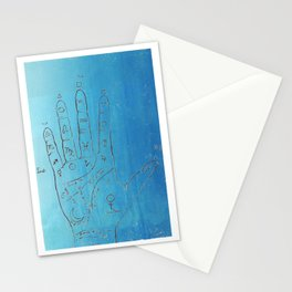 In the Palm of your Hand Palmistry art Stationery Cards