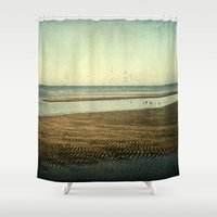 serenity Shower Curtains featuring Serenity by JMcCool