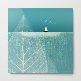 Ocean Wonderland II Metal Print