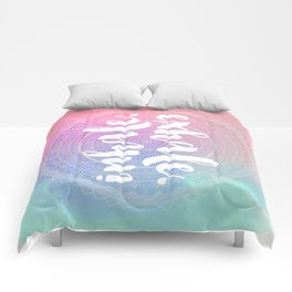 Inhale Exhale Comforters