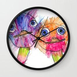 Ostrich Love Wall Clock