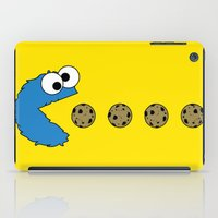 muppet iPad Cases featuring Cookie monster Pacman by dutyfreak