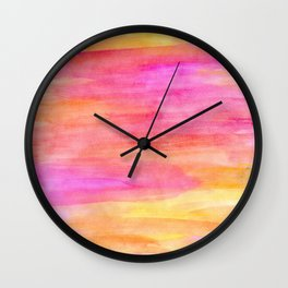 River flows Wall Clock