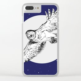 Athena Owl Clear iPhone Case