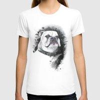 bulldog T-shirts featuring Bulldog by kitara
