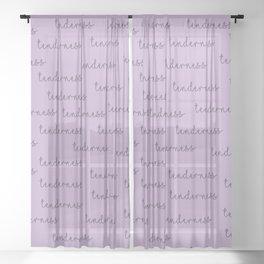 Tenderness Sheer Curtain
