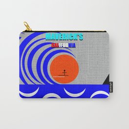 Maverick's California surfing art Carry-All Pouch