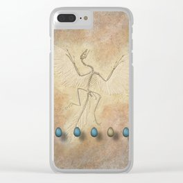 Archaeopteryx Clear iPhone Case
