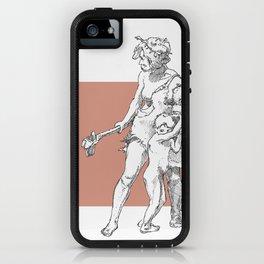 Neanderthal girl iPhone Case